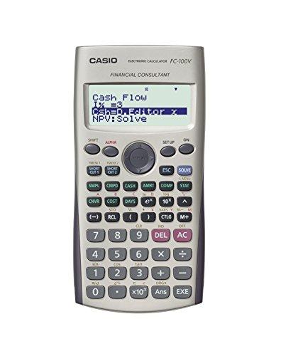 Casio FC100V Finanz-Taschenrechner