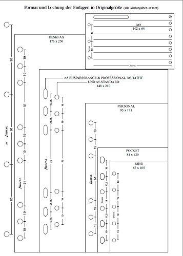 Filofax 210618 Pocket Finanzen Organizer, weiß - 2